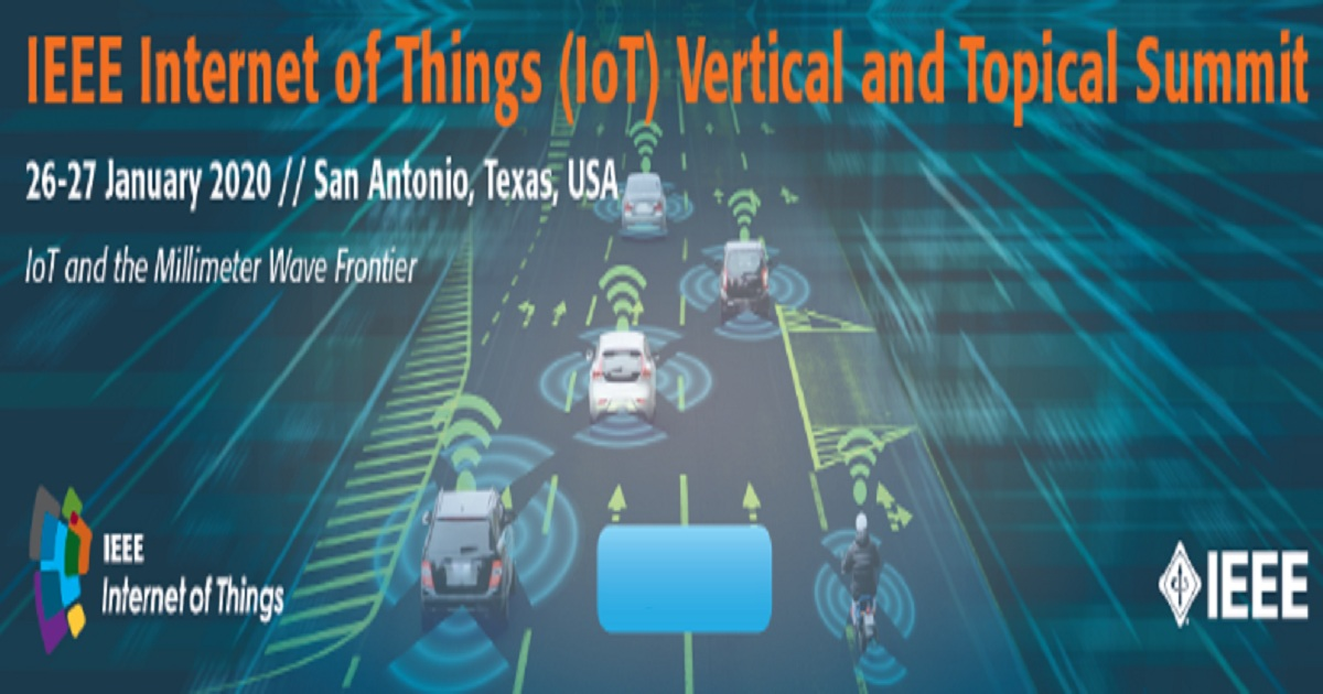 Internet of Things (IoT) Summit at RWW2020