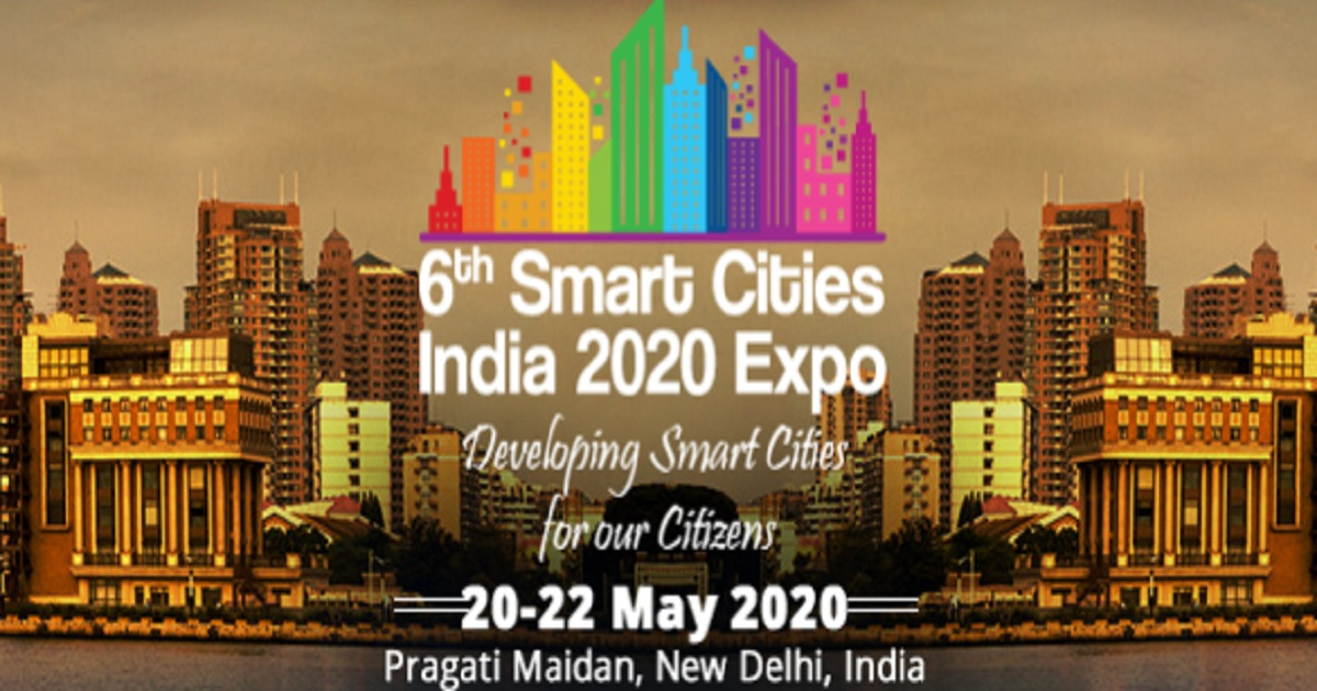 6th Smart Cities India 2020 Expo