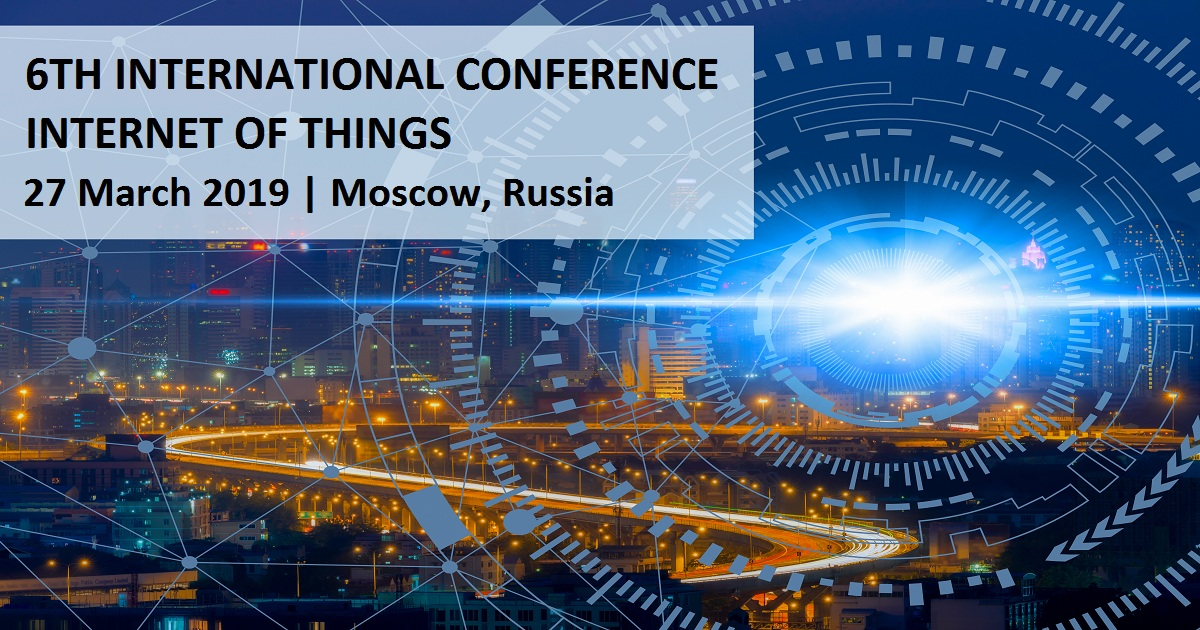 6TH INTERNATIONAL CONFERENCE INTERNET OF THINGS