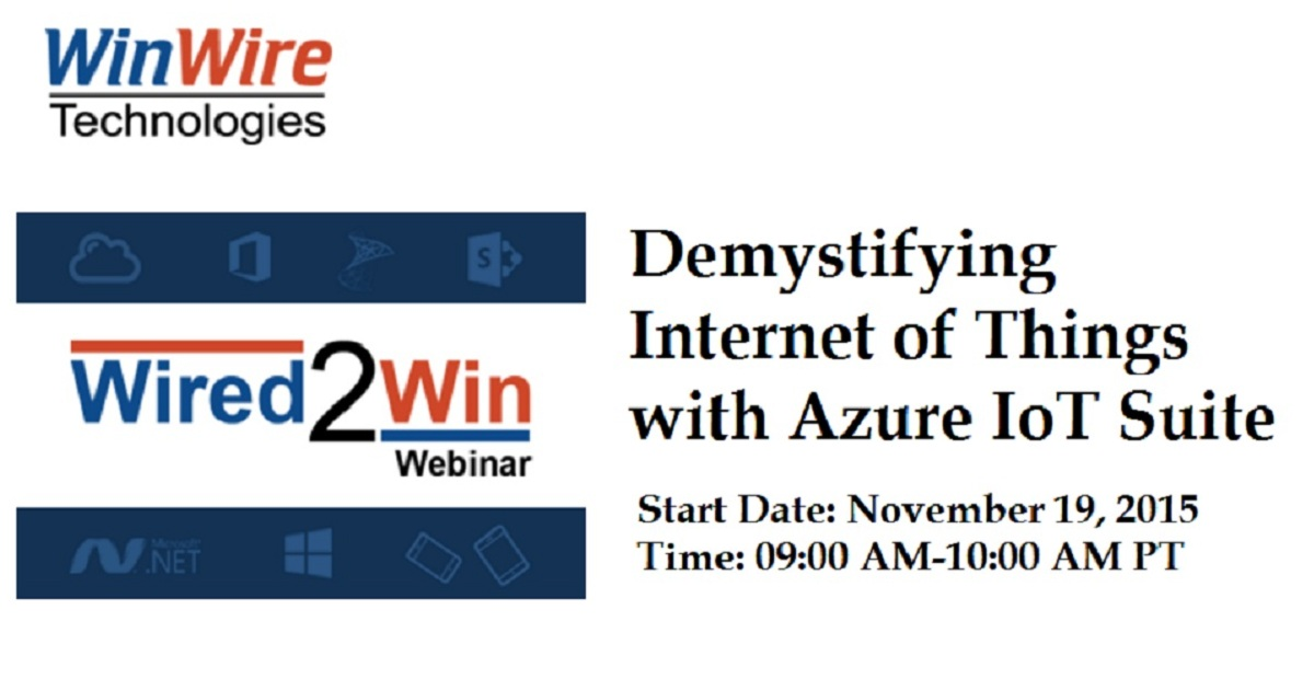 Demystifying Internet of Things with Azure IoT Suite