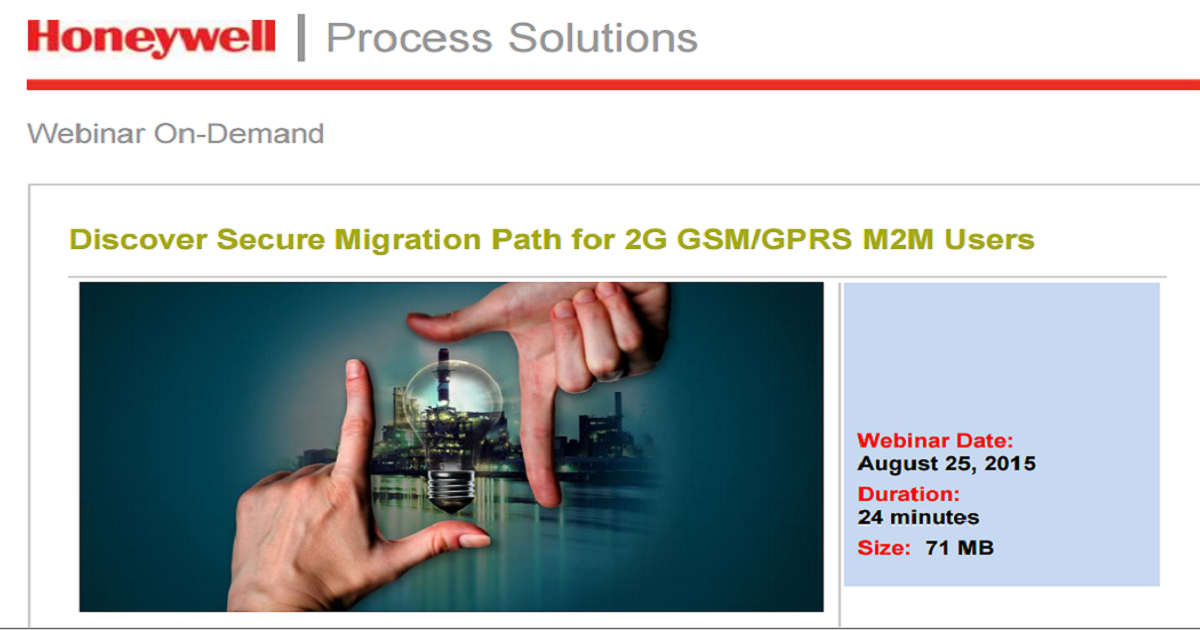 Discover Secure Migration Path for 2G GSM/GPRS M2M Users