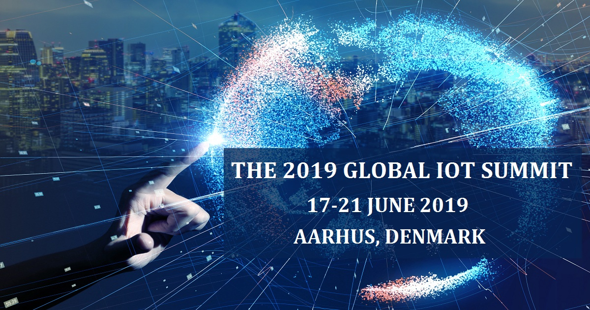 THE 2019 GLOBAL IOT SUMMIT