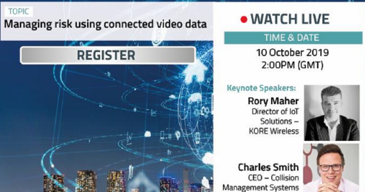 Managing risk using connected video data