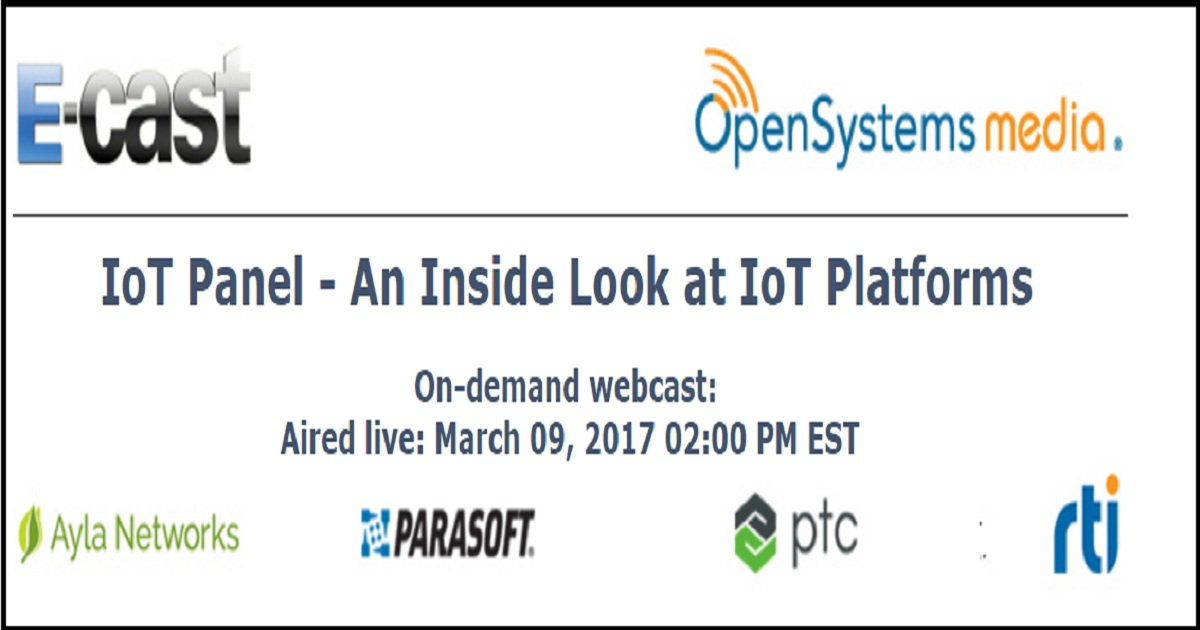 IoT Panel - An Inside Look at IoT Platforms