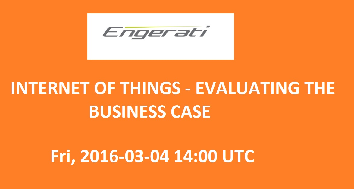 Internet of Things - Evaluating the business case