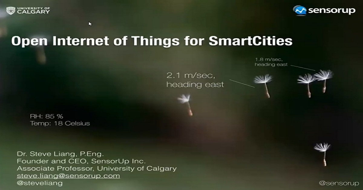 Open Internet of Things for Smart Cities