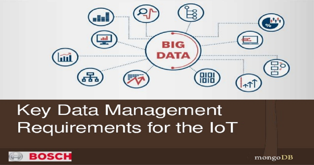 Key Data Management Requirements for the IoT
