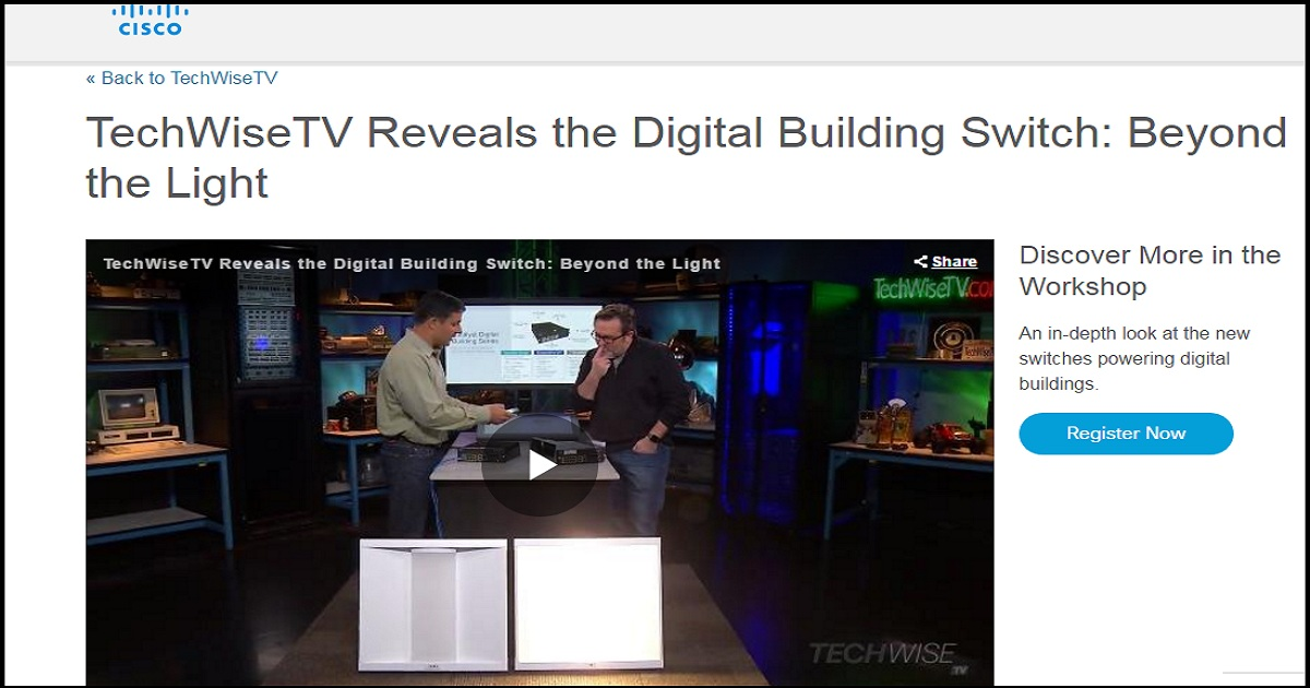 TechWiseTV Reveals the Digital Building Switch: Beyond the Light
