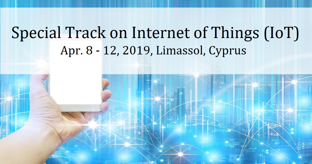 Special Track on Internet of Things (IoT)