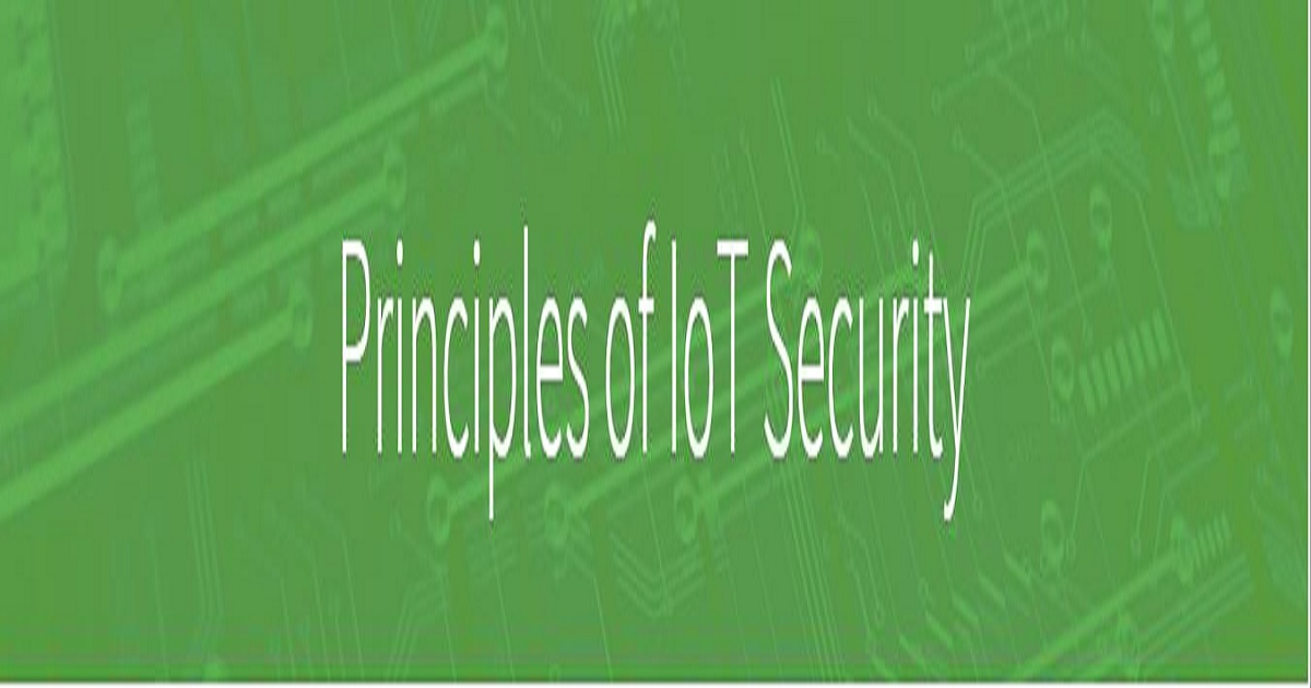 Principles of IoT Security