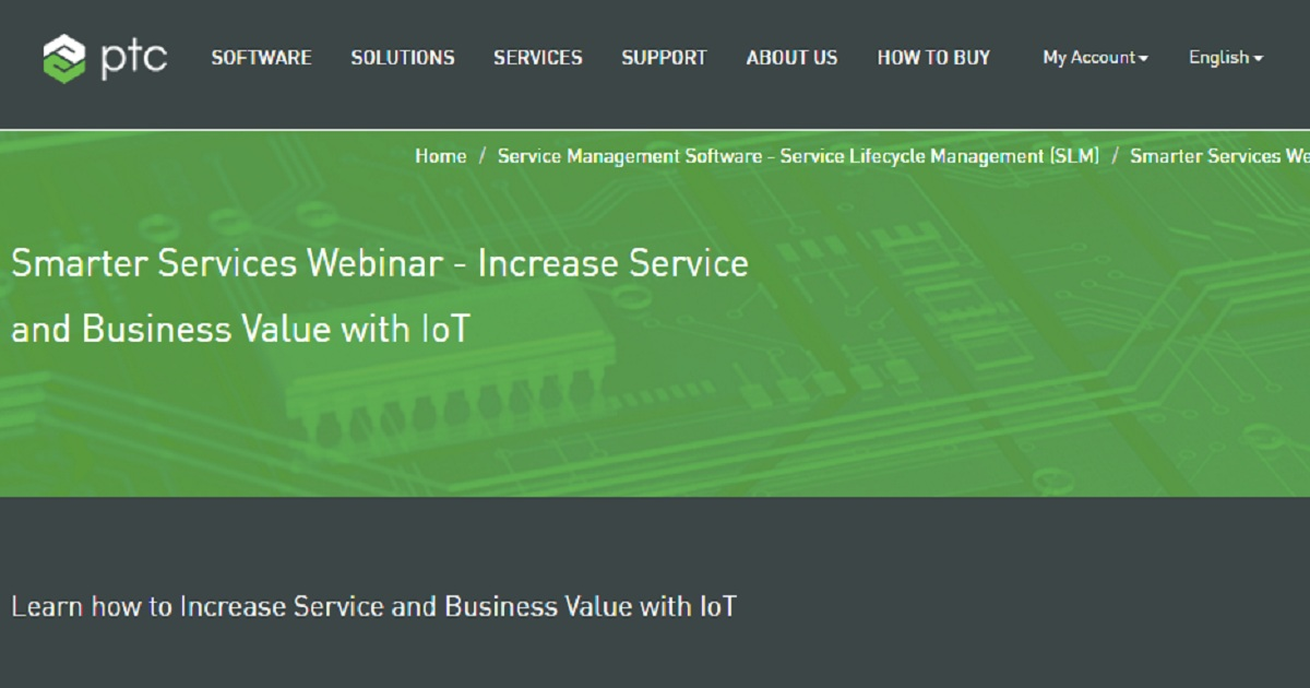 Increase Service and Business Value with IoT