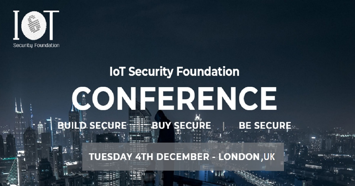 4th Annual IoT Security Foundation Conference