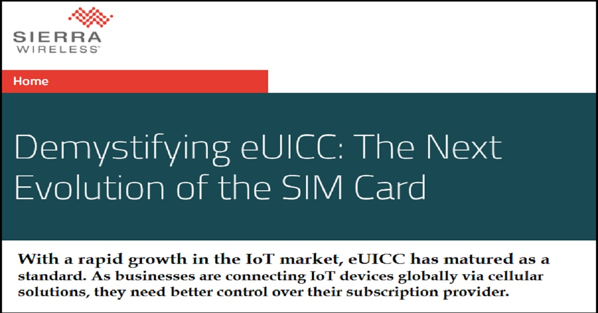 Demystifying eUICC: The Next Evolution of the SIM Card
