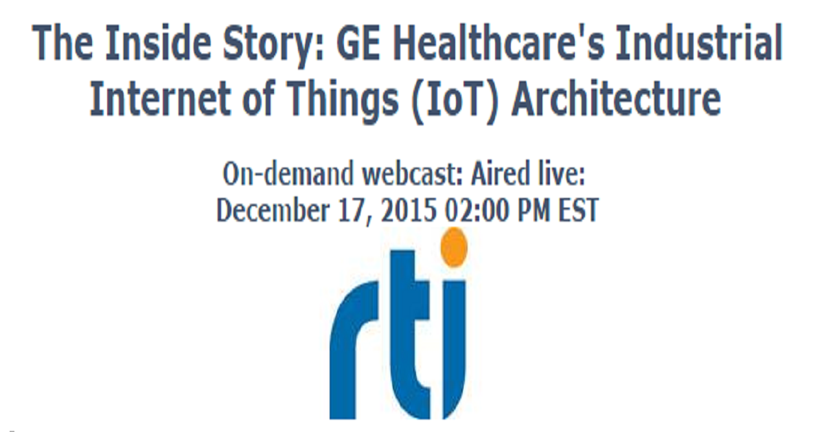 The Inside Story: GE Healthcare