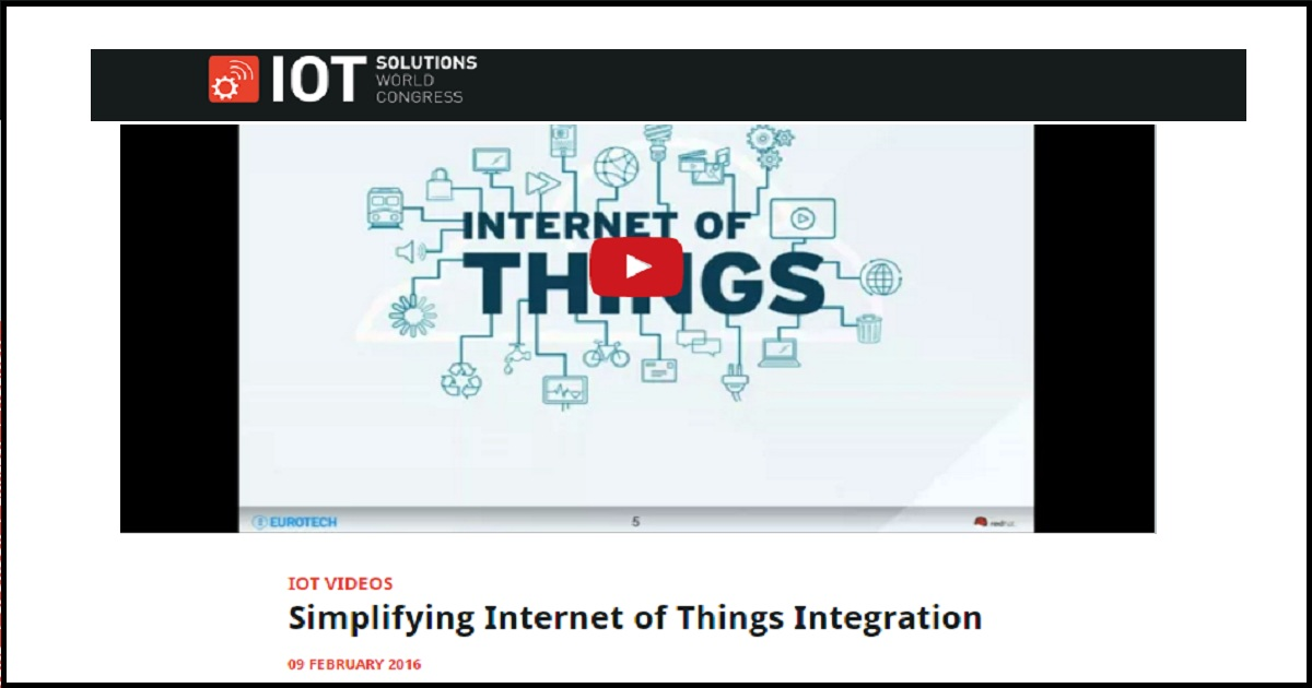 Simplifying Internet of Things Integration