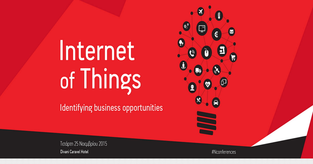 IoT Conference: Identifying business opportunities