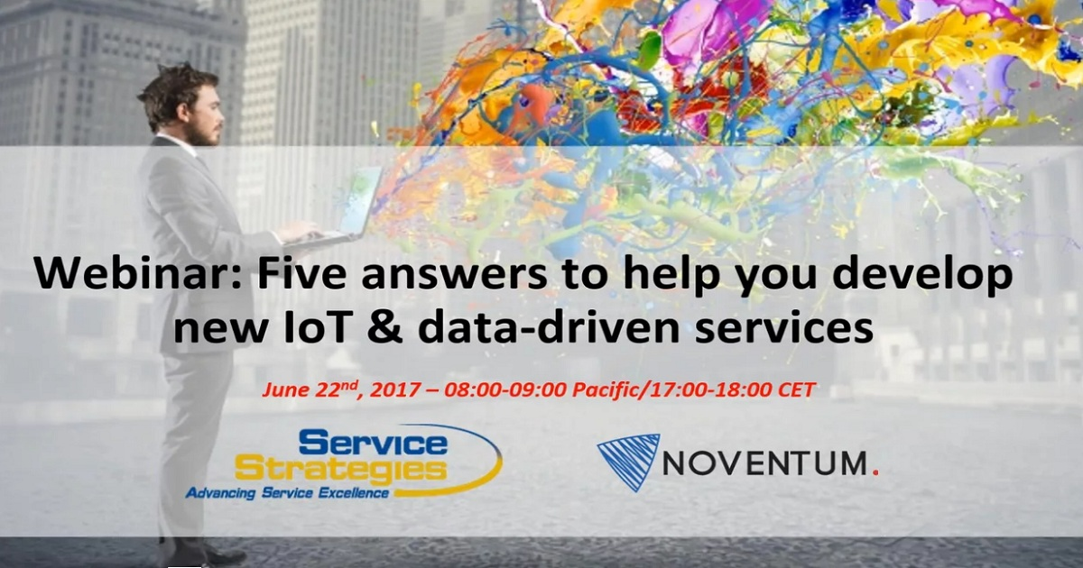 Five Answers to Help You Develop New IoT & Data-Driven Services