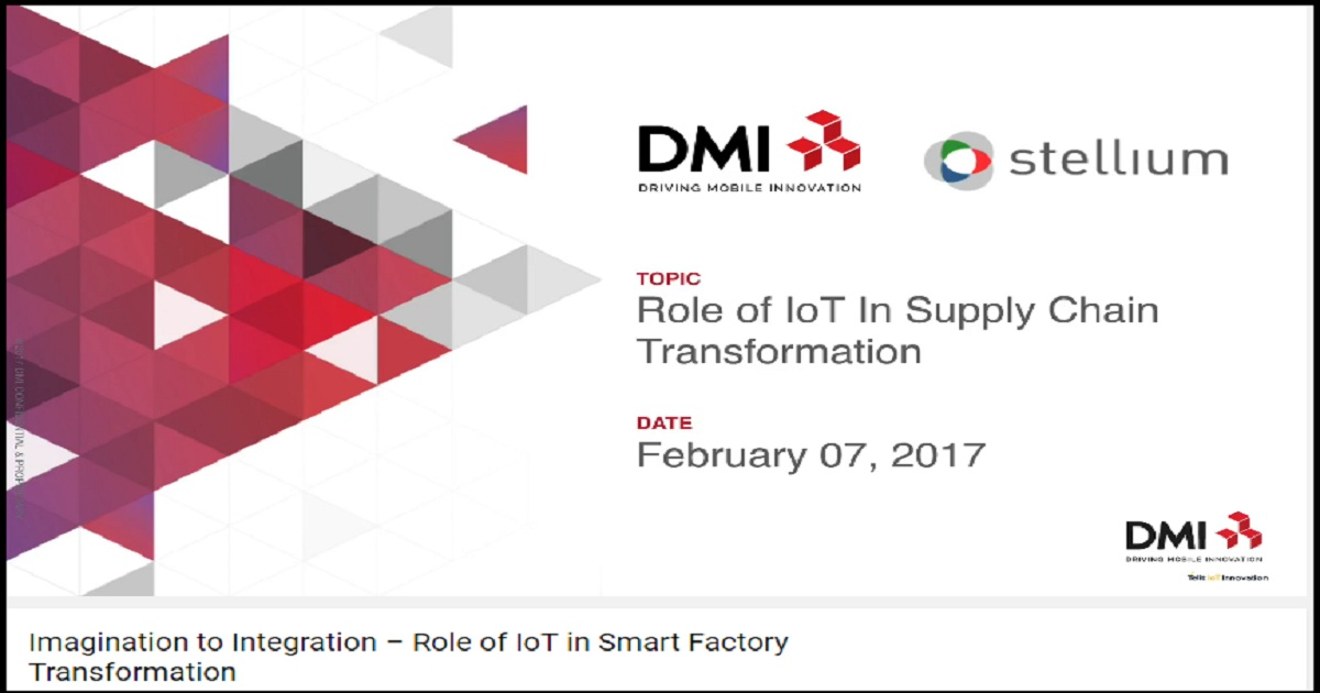 Imagination to Integration – Role of IoT in Smart Factory Transformation