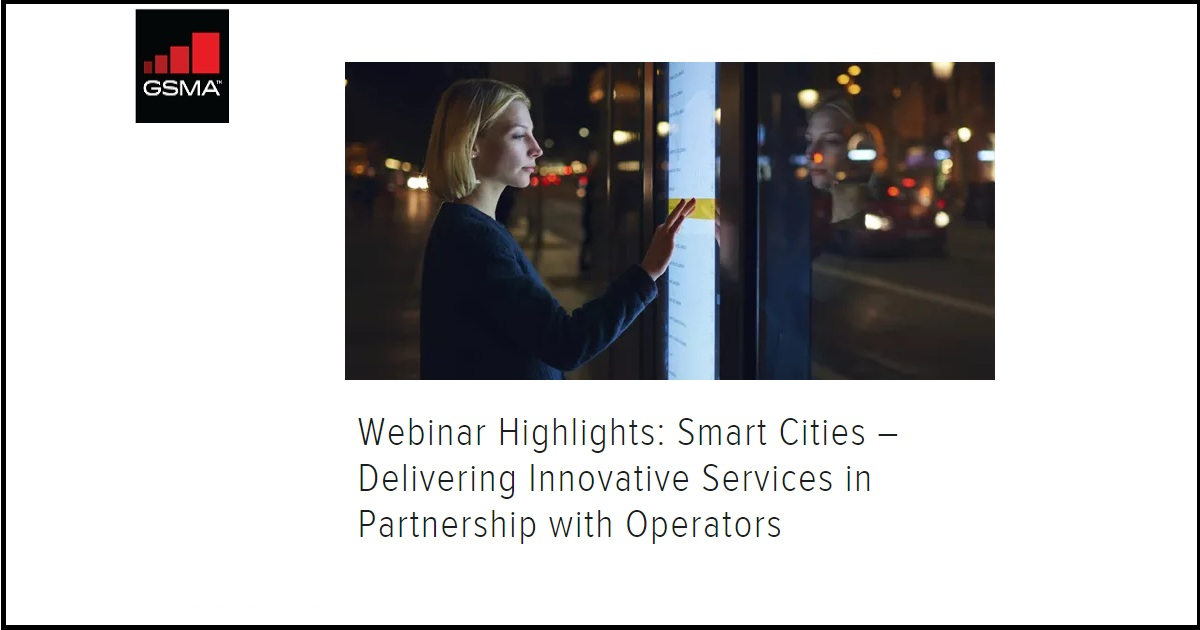 Smart Cities – Delivering Innovative Services in Partnership with Operators