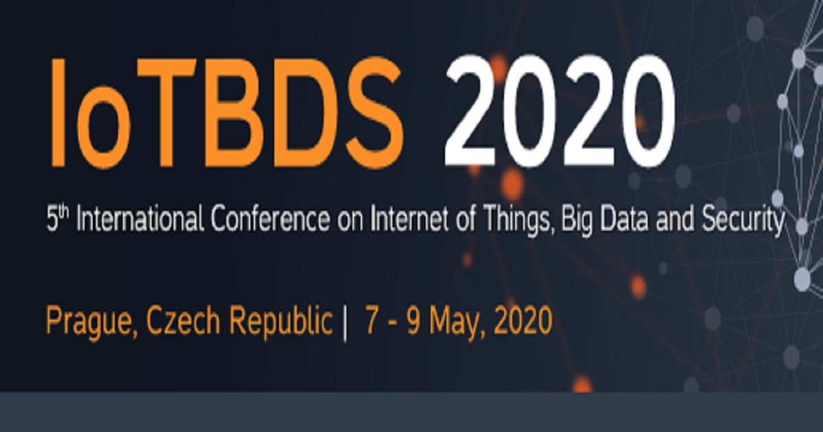 5 th international conference on IoT, Big data and Security