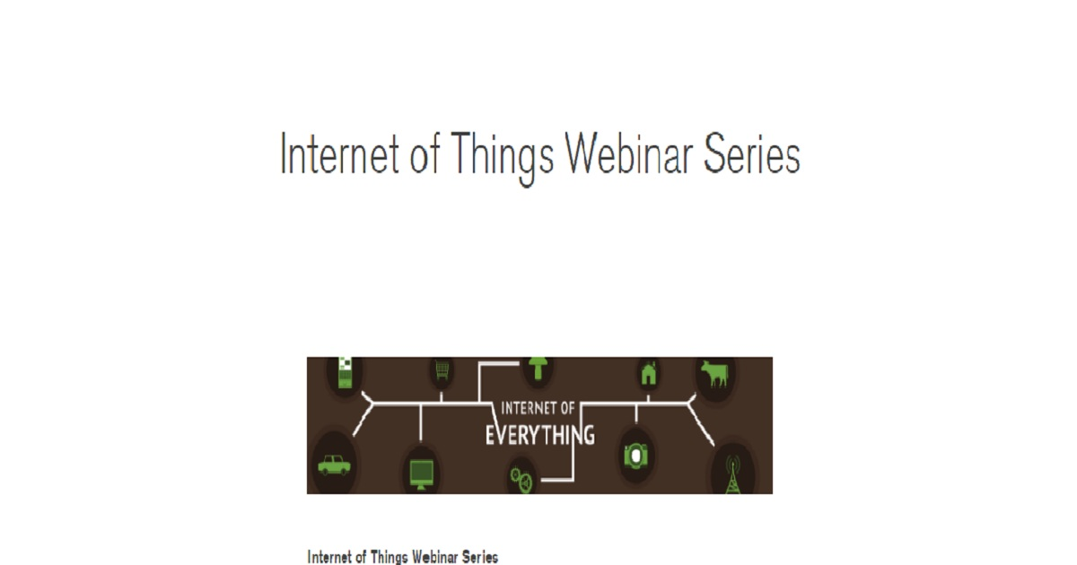 Internet of Things and Big Data: Vision and Concrete Use Cases