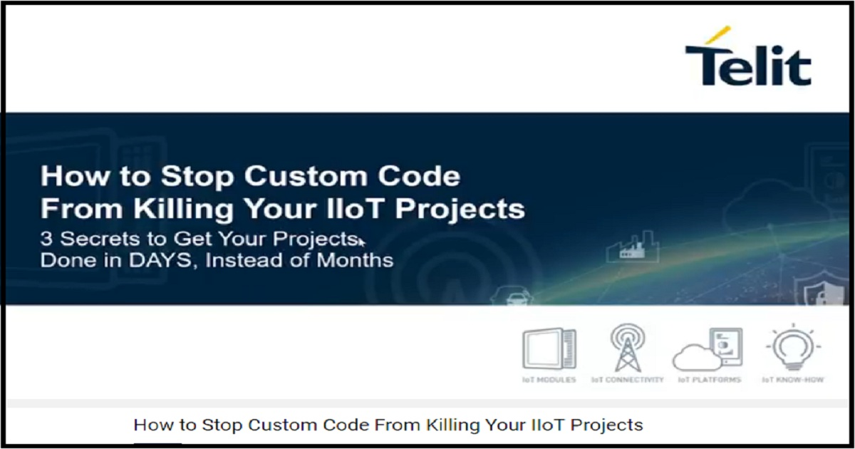 How to Stop Custom Code From Killing Your IIoT Projects
