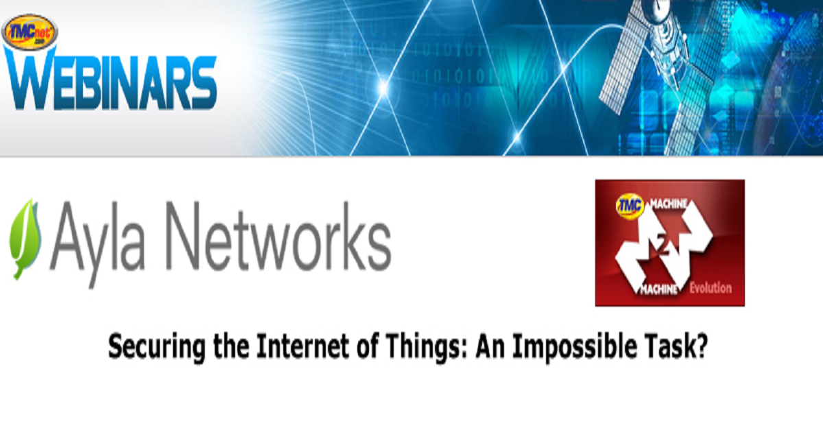 Securing the Internet of Things: An Impossible Task?