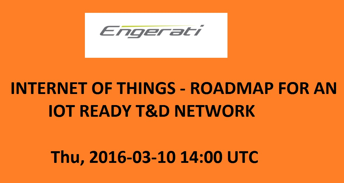 Internet of Things - Roadmap for an IoT ready T&D network
