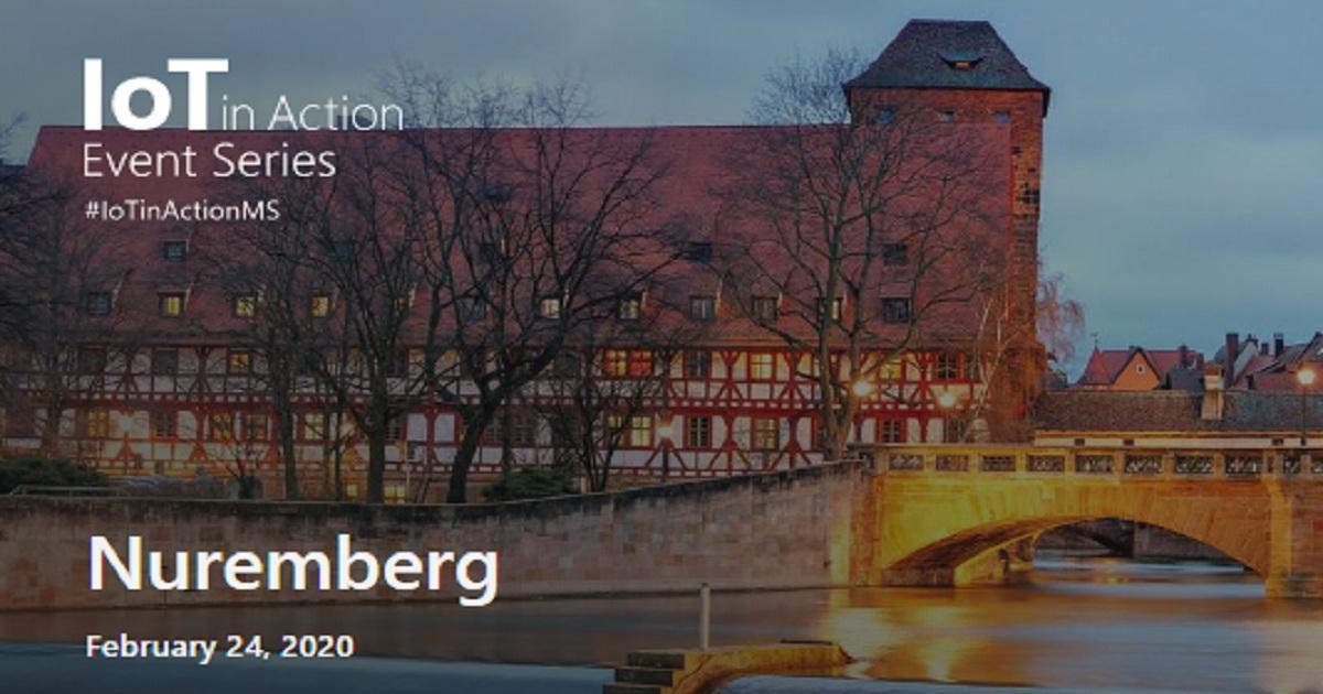 Microsoft IoT in Action - Nuremberg
