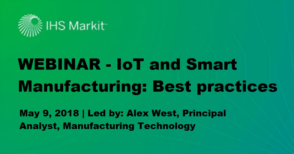 Lessons Learned: Smart Manufacturing Case Studies