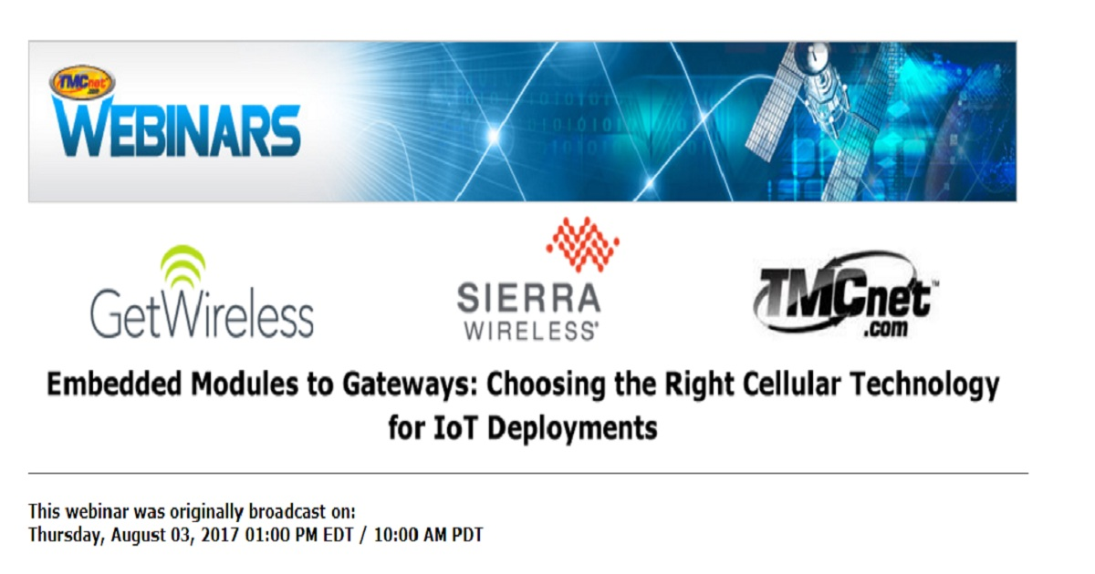 Embedded Modules to Gateways: Choosing the Right Cellular Technology for IoT Deployments
