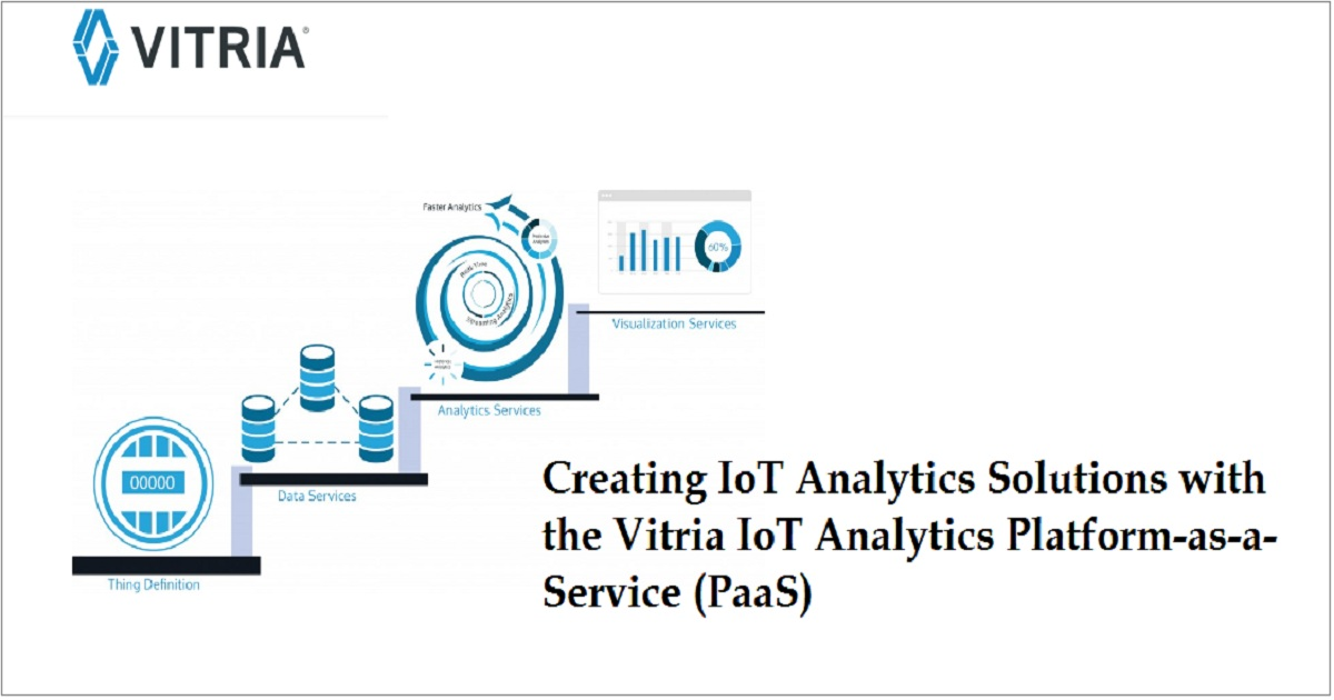 Creating IoT Analytics Solutions with the Vitria IoT Analytics Platform-as-a-Service (PaaS)