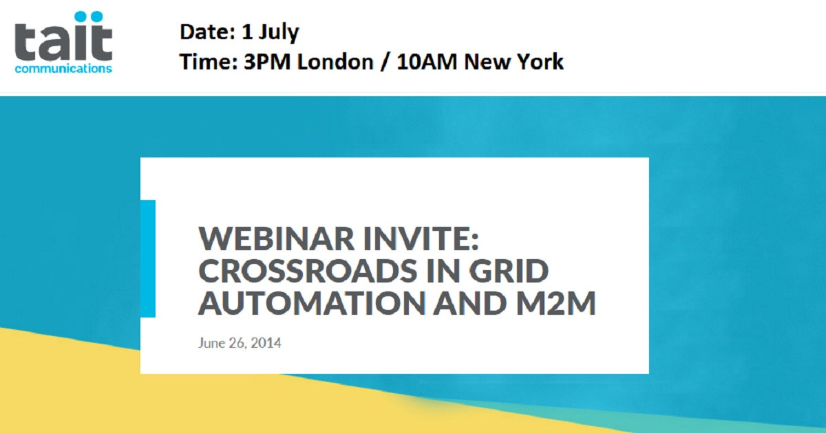Crossroads in Grid Automation and M2M