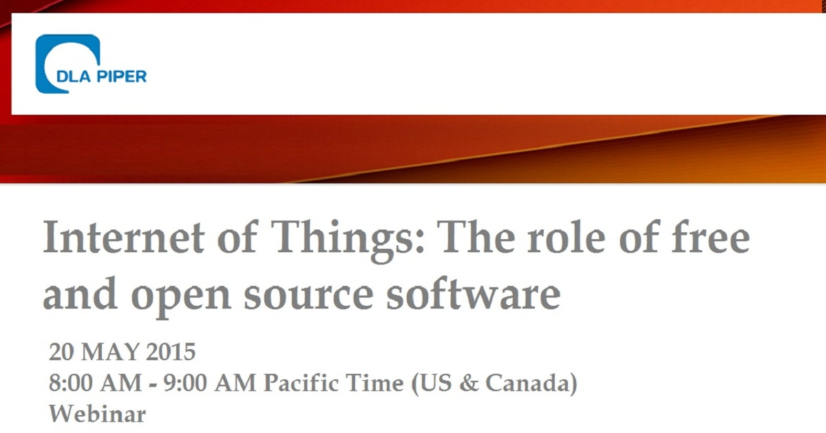 Internet of Things: The role of free and open source software