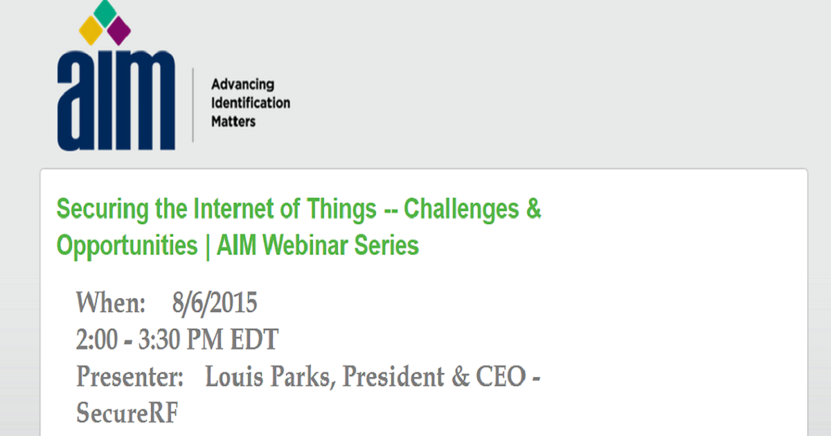 Securing the Internet of Things -- Challenges & Opportunities