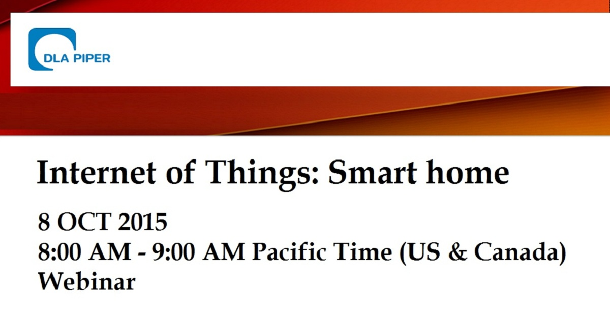 Internet of Things: Smart home