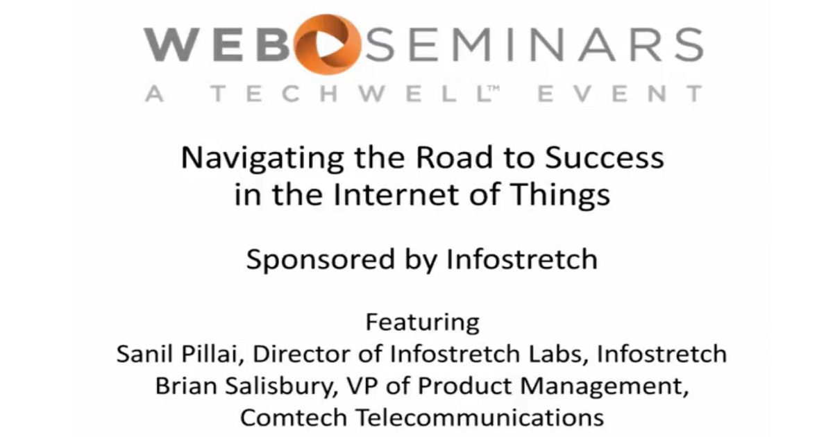 Navigating the Road to Success in IoT with Comtech