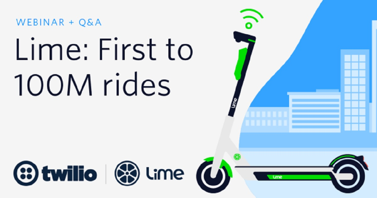 Lime: First to 100M rides