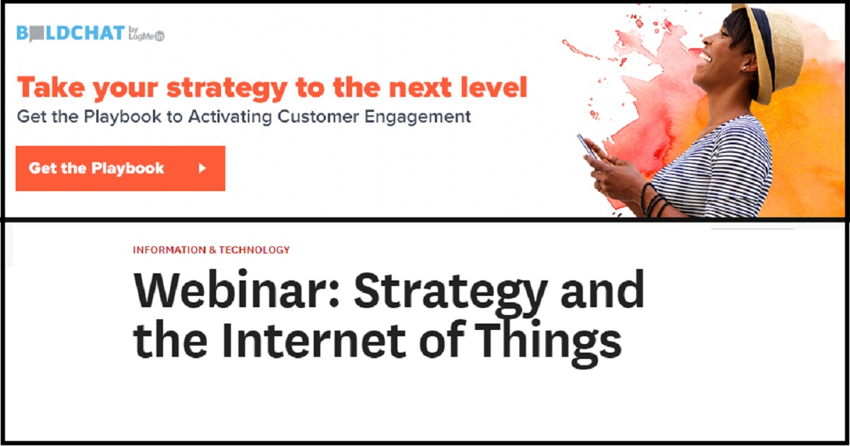 Webinar: Strategy and the Internet of Things