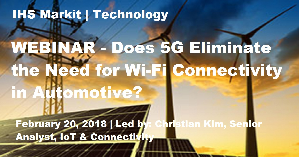 Does 5G Eliminate the Need for Wi-Fi Connectivity in Automotive?
