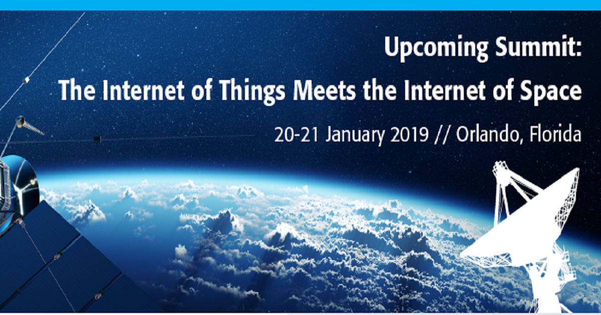 The Internet of Things Meets the Internet of Space