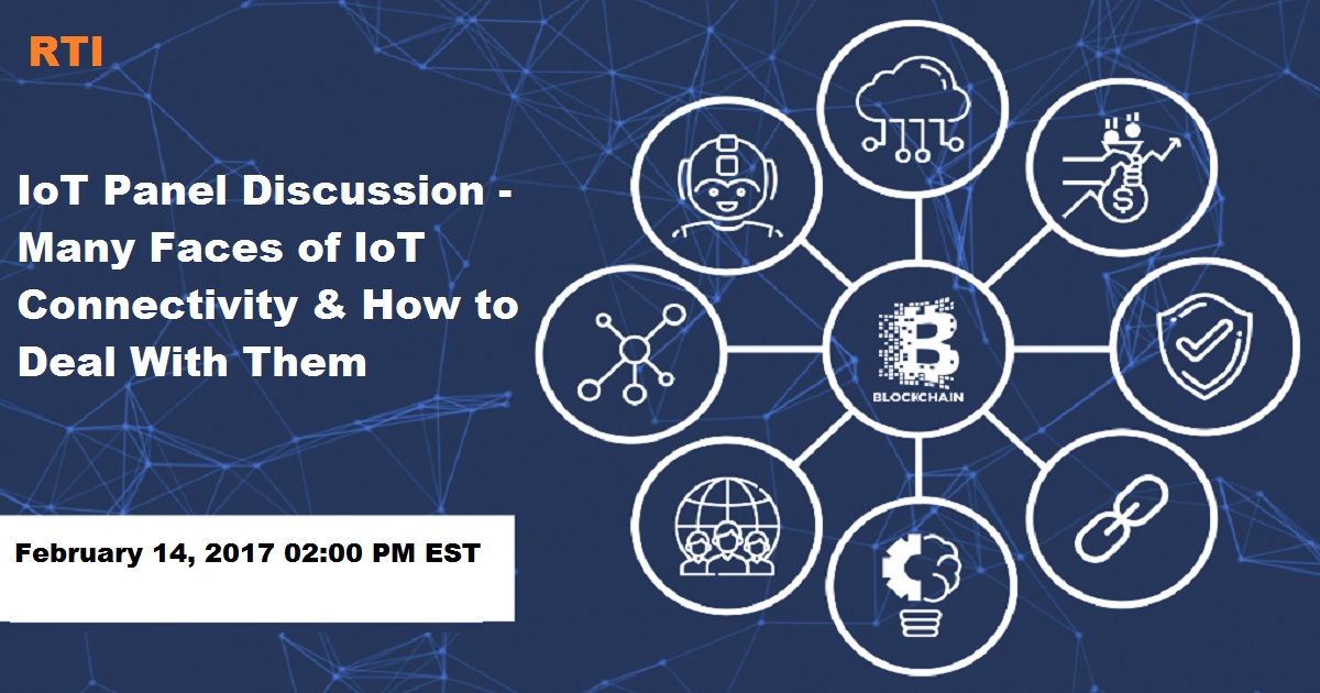 Many Faces of IoT Connectivity & How to Deal With Them - IoT Panel Discussion