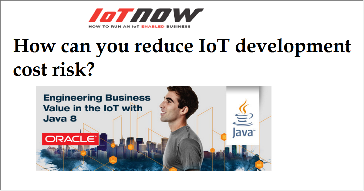 How can you reduce IoT development cost risk?