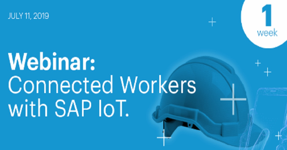 Connected worker with SAP IoT