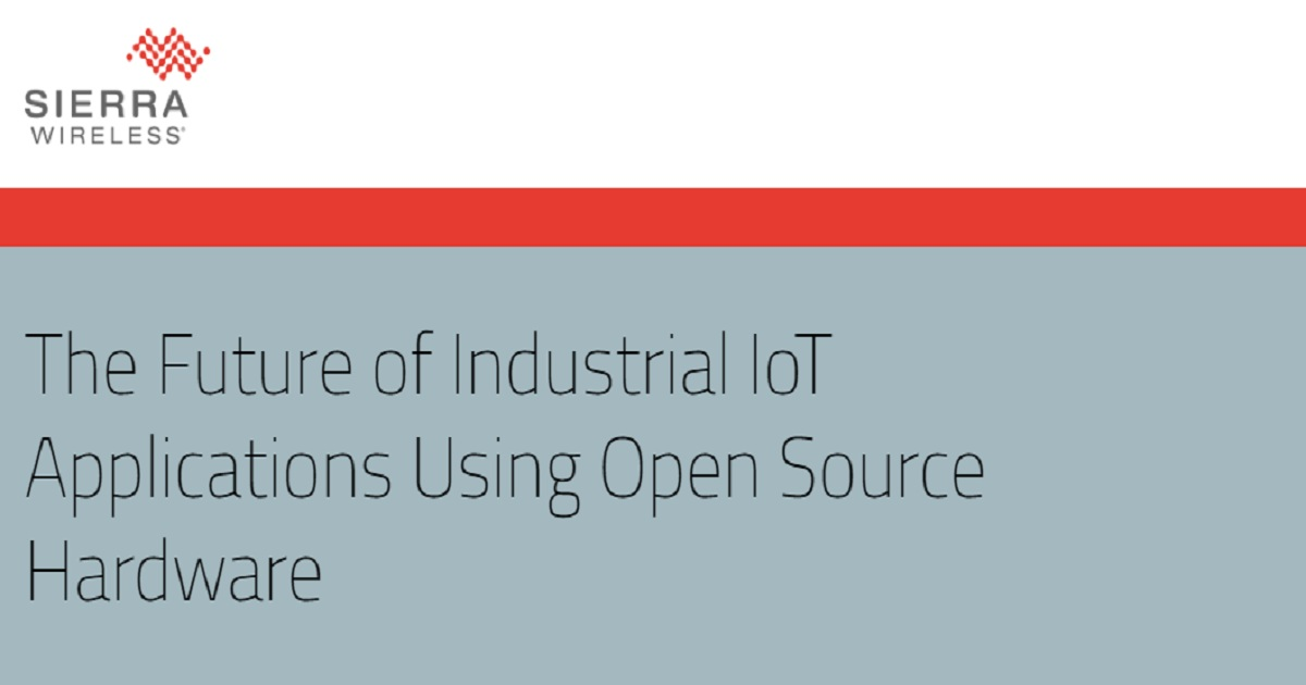 The Future of Industrial IoT Applications Using Open Source Hardware