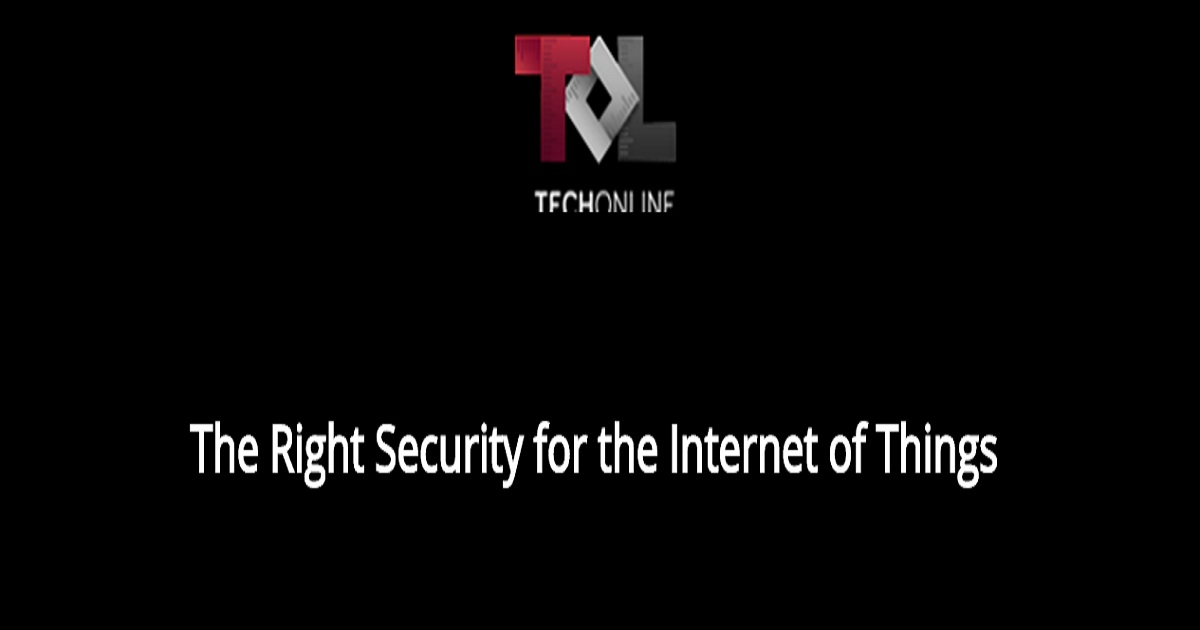 The Right Security for the Internet of Things