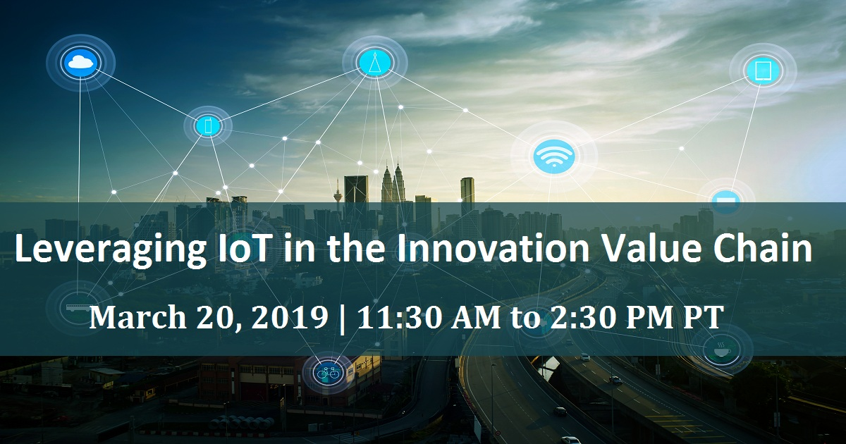 Leveraging IoT in the Innovation Value Chain