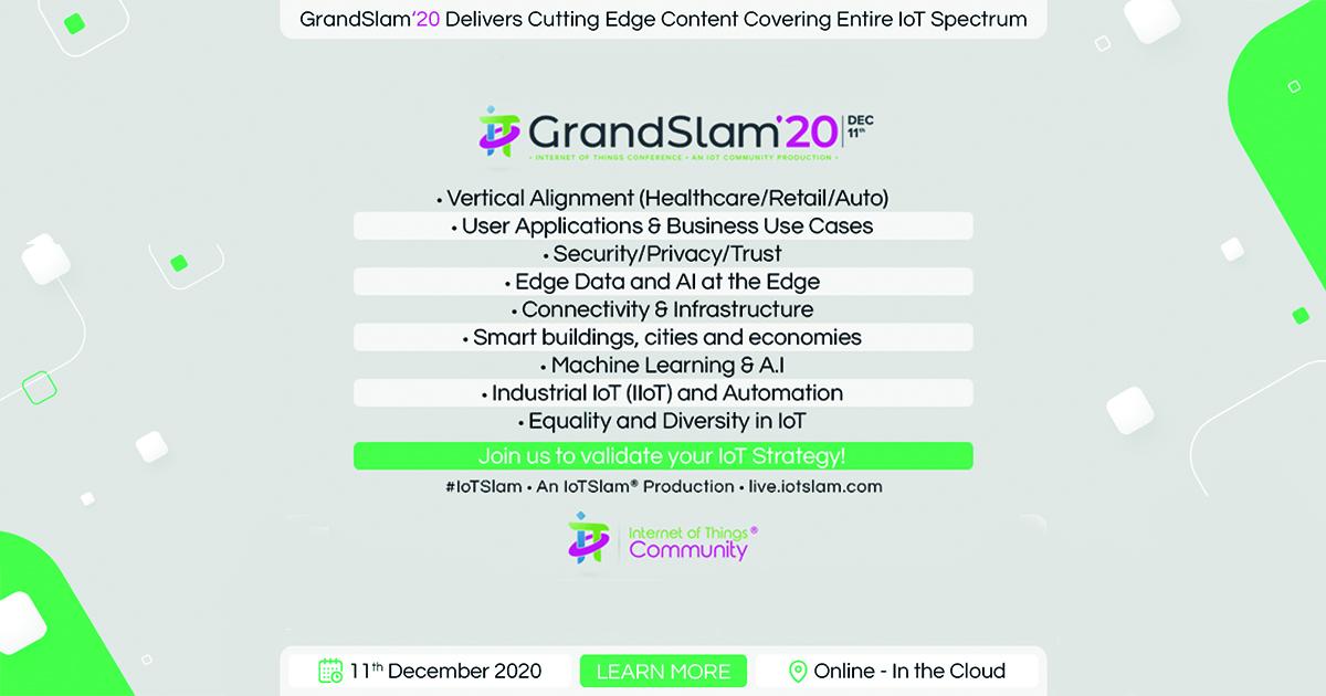 IoT Grand Slam 2020
