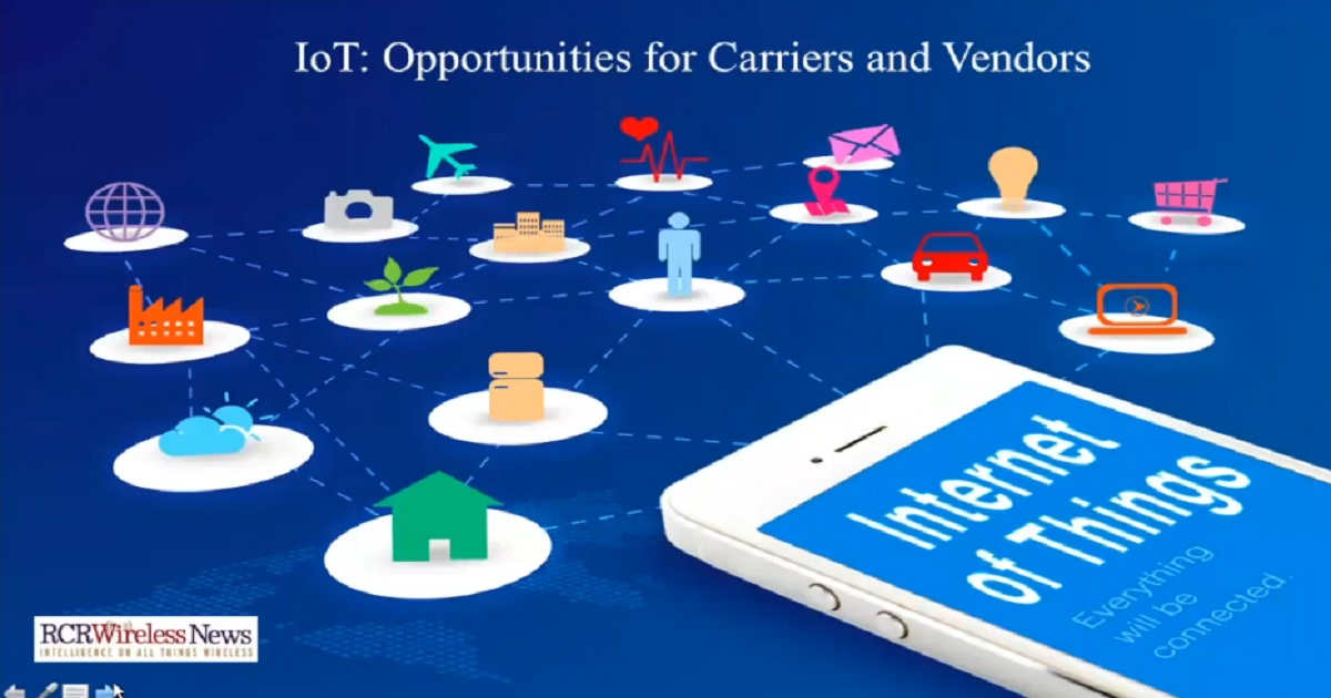IoT - Opportunities for Carriers and Vendors