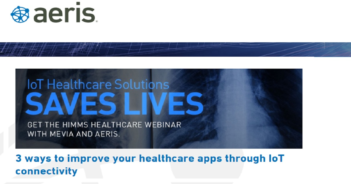 3 Ways to Improve Your Healthcare Apps Through IoT Connectivity